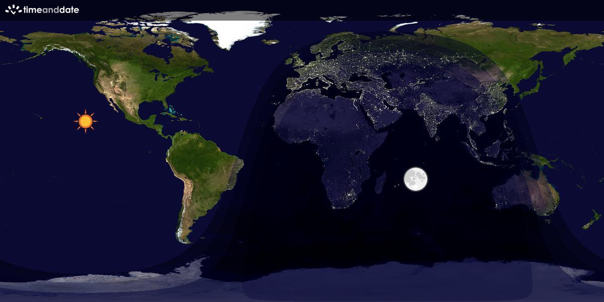 Day / Night Map