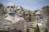 US Presidents Monument, Mount Rushmore.
