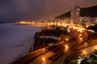 Sea Point at night, Cape Town, South Africa