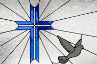 Holy Cross with Dove of Peace