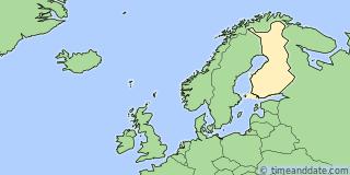 Finland Utc Time