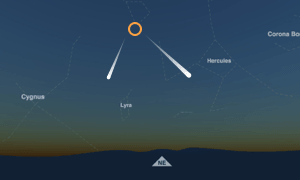 Meteor Showers When And Where To See Them - Interactive sky map