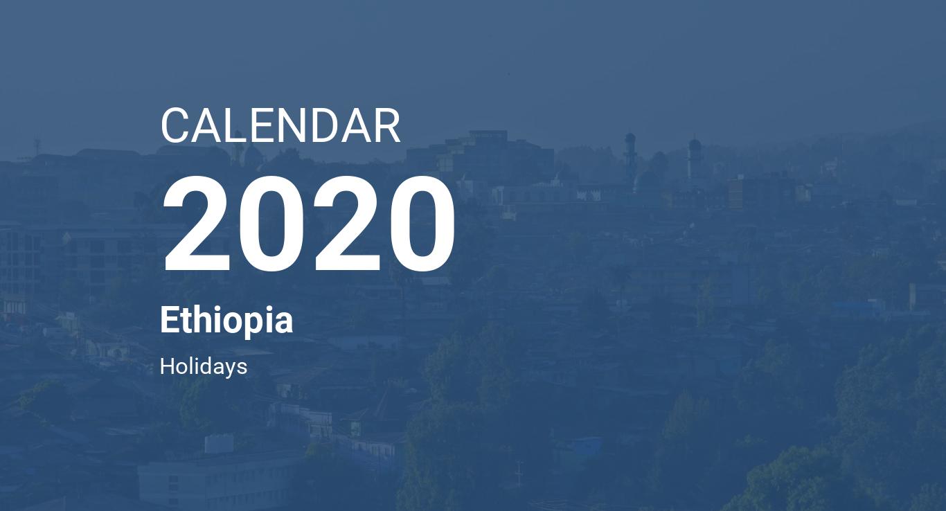 Ethiopian Orthodox Fasting Calendar 2020 Year 2020 Calendar – Ethiopia