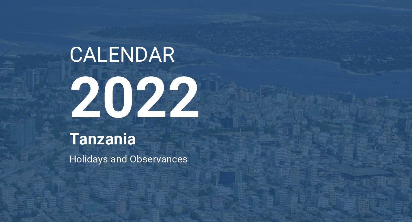 Moon Phase Calendar 2022.Year 2022 Calendar Tanzania