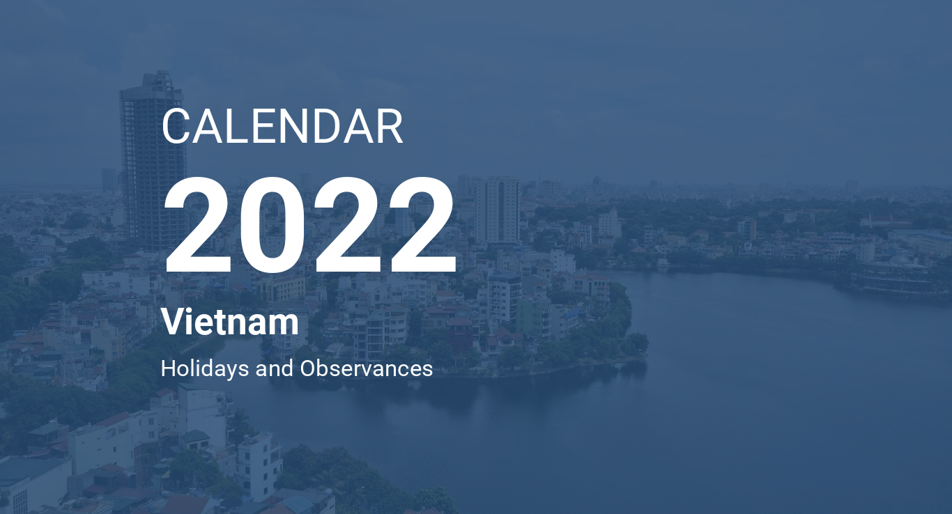 Vietnamese Calendar 2022.Year 2022 Calendar Vietnam