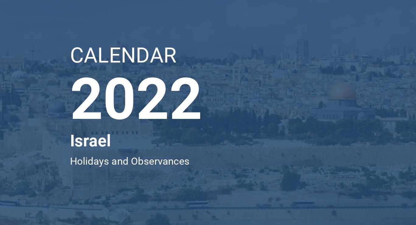 Jewish Calendar 2022 Chabad.Year 2022 Calendar Israel
