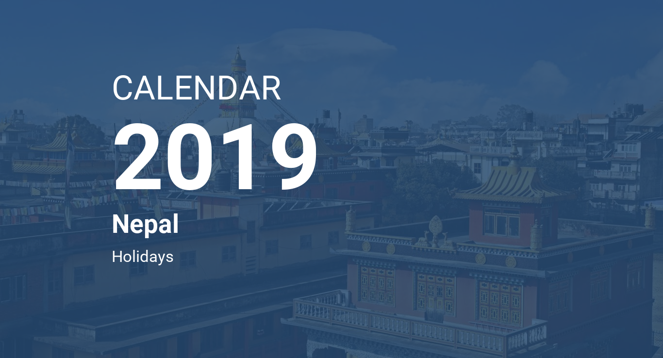 Nepal Karte Download.Year 2019 Calendar Nepal