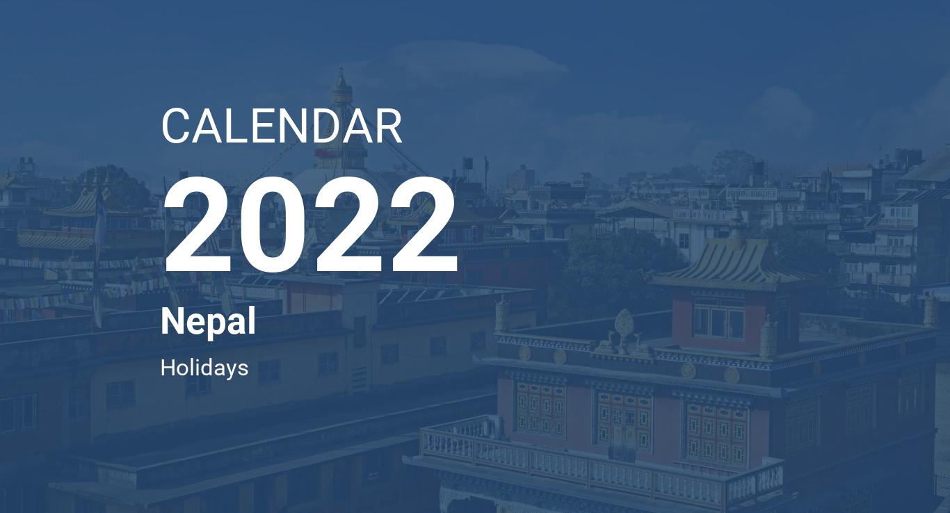 Tamu Calendar 2022.Year 2022 Calendar Nepal