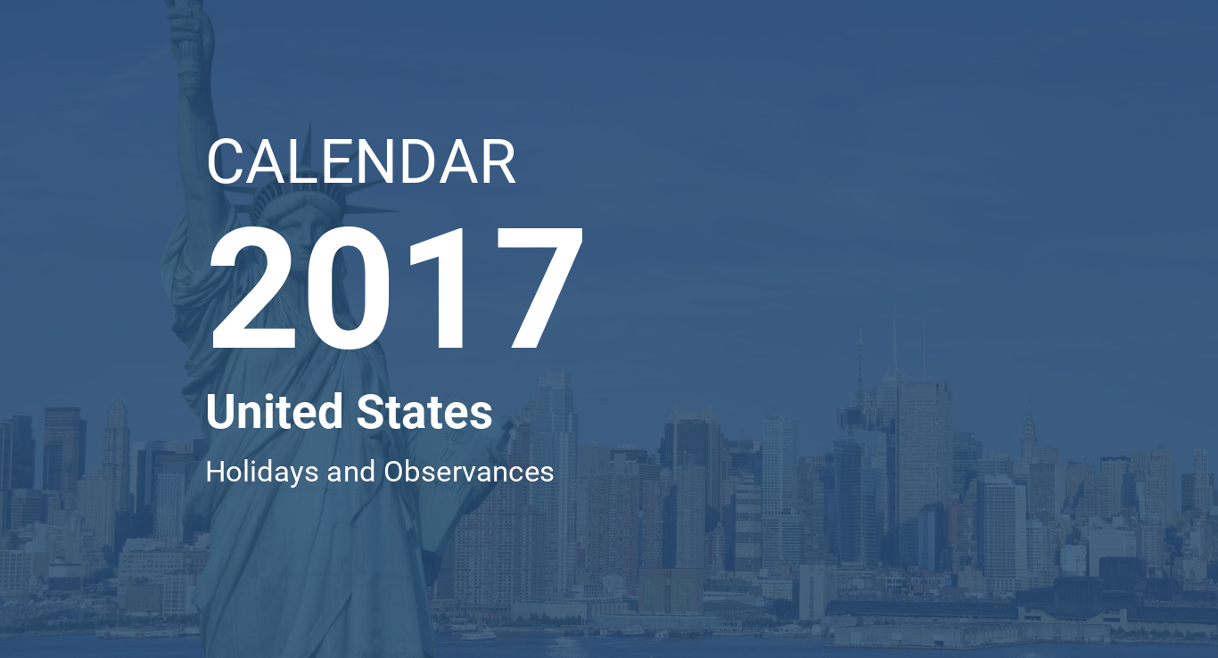 Calendrier 2917.Year 2017 Calendar United States