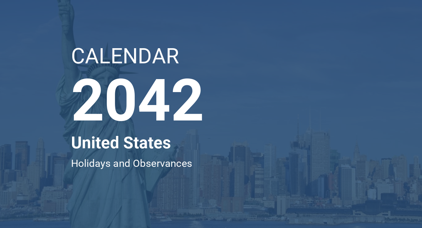 Year 2042 Calendar