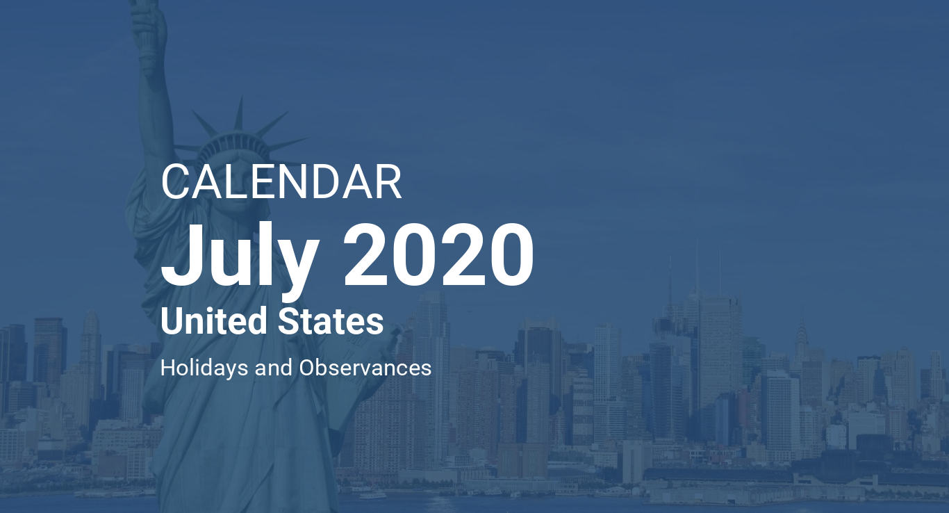 tuesday july 1st 2020