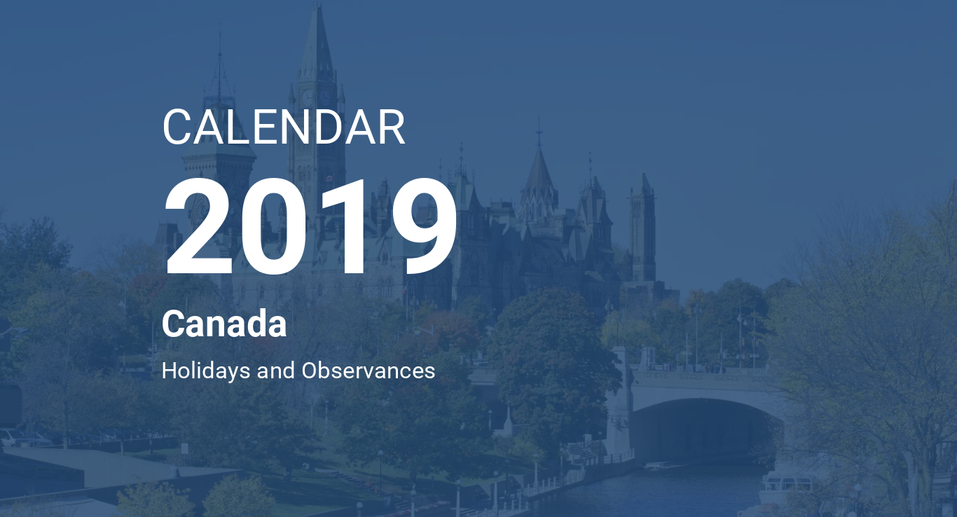 Time And Date February Calendar 2019 Printable Year 2019 Calendar – Canada