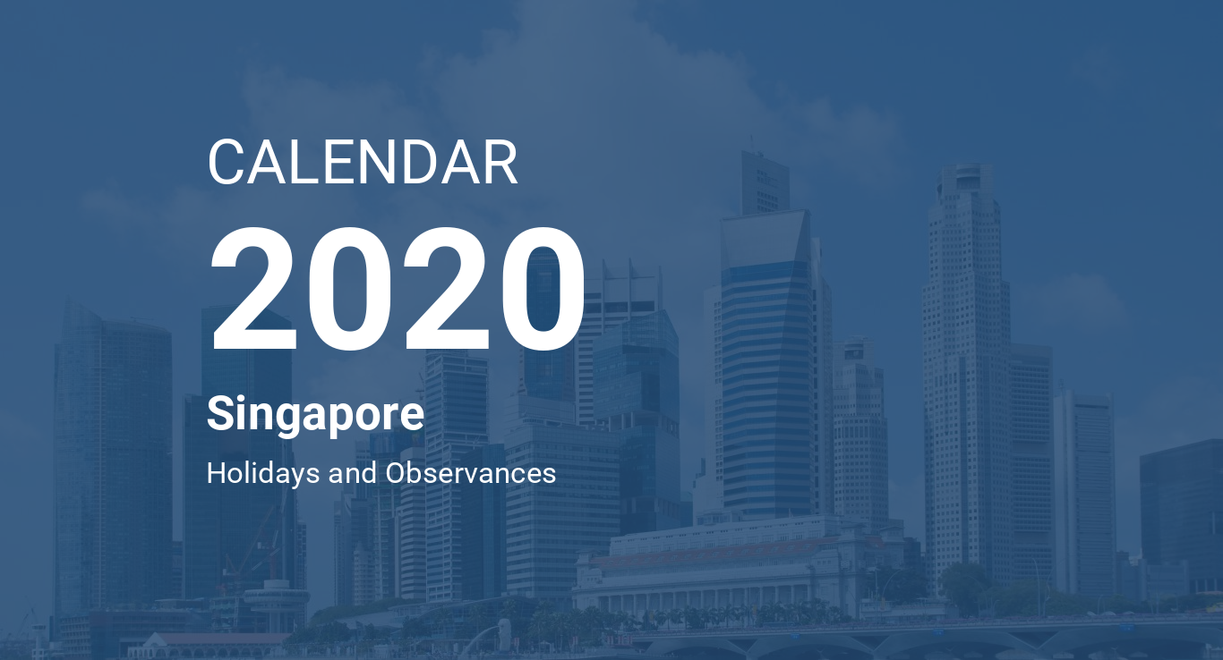 2020 To 2020 Calendar Year 2020 Calendar – Singapore