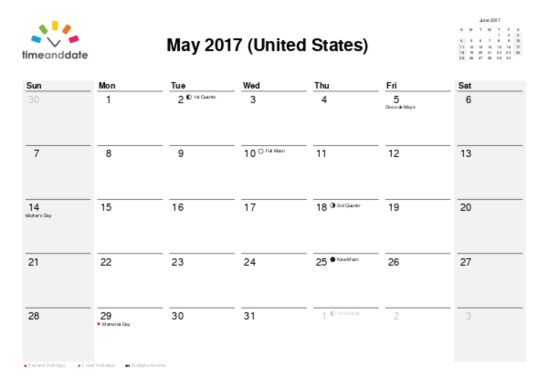 Create Printable Calendar PDF – Printable Monthly Calendars