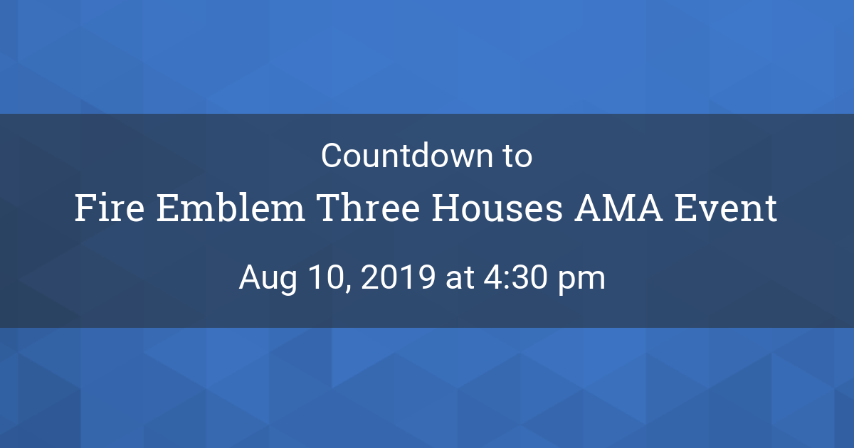 Countdown Timer - Countdown to Aug 10, 2019 4:30 pm in New York