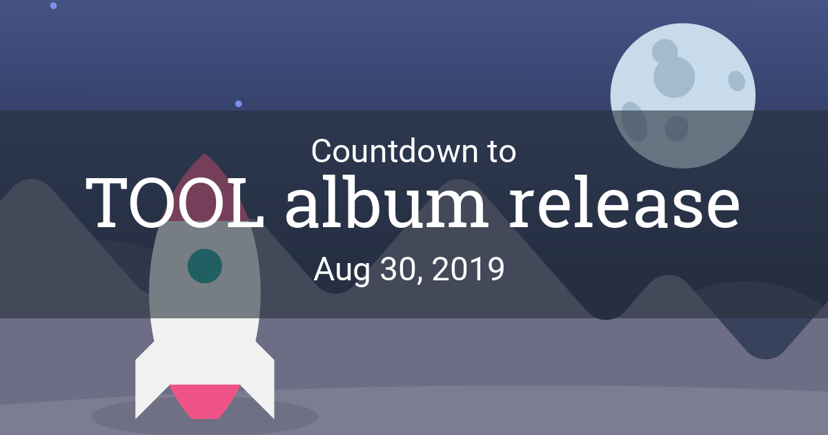 Launch Countdown - Countdown to Aug 30, 2019 in New York