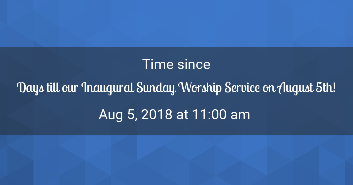 Countdown Timer Countdown To Aug 5 2018 1100 Am In New York