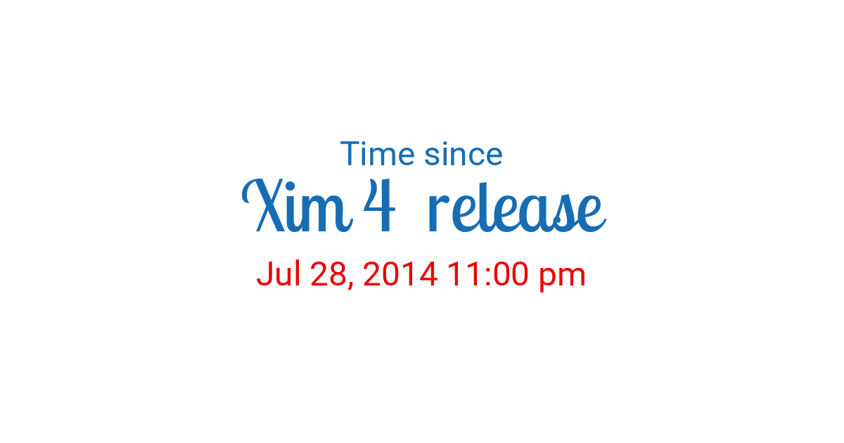 Countdown to Jul 28, 2014 11:00 pm in New York