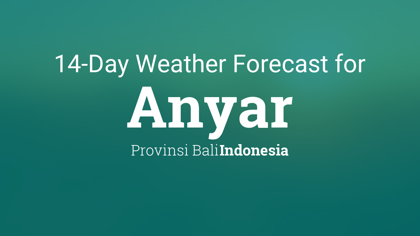 Bali Weather 14 Days