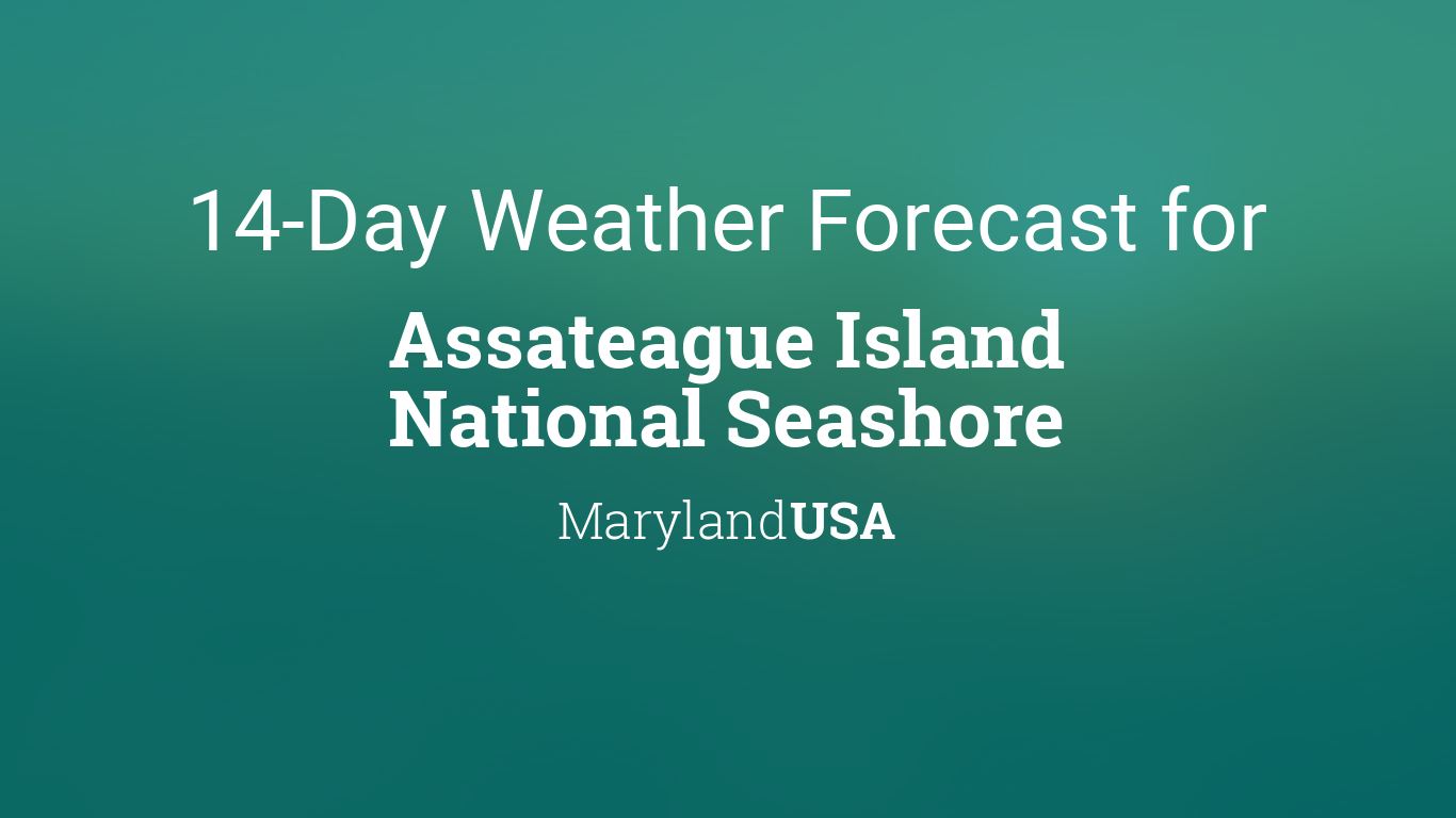 Assateague Island National Seashore, Maryland, USA 14 day