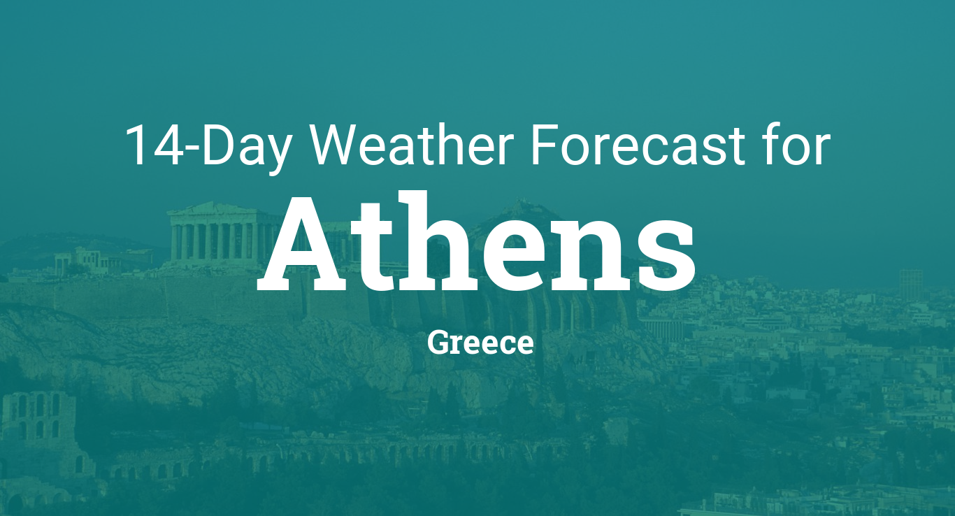 Athens, Greece 14 day weather forecast
