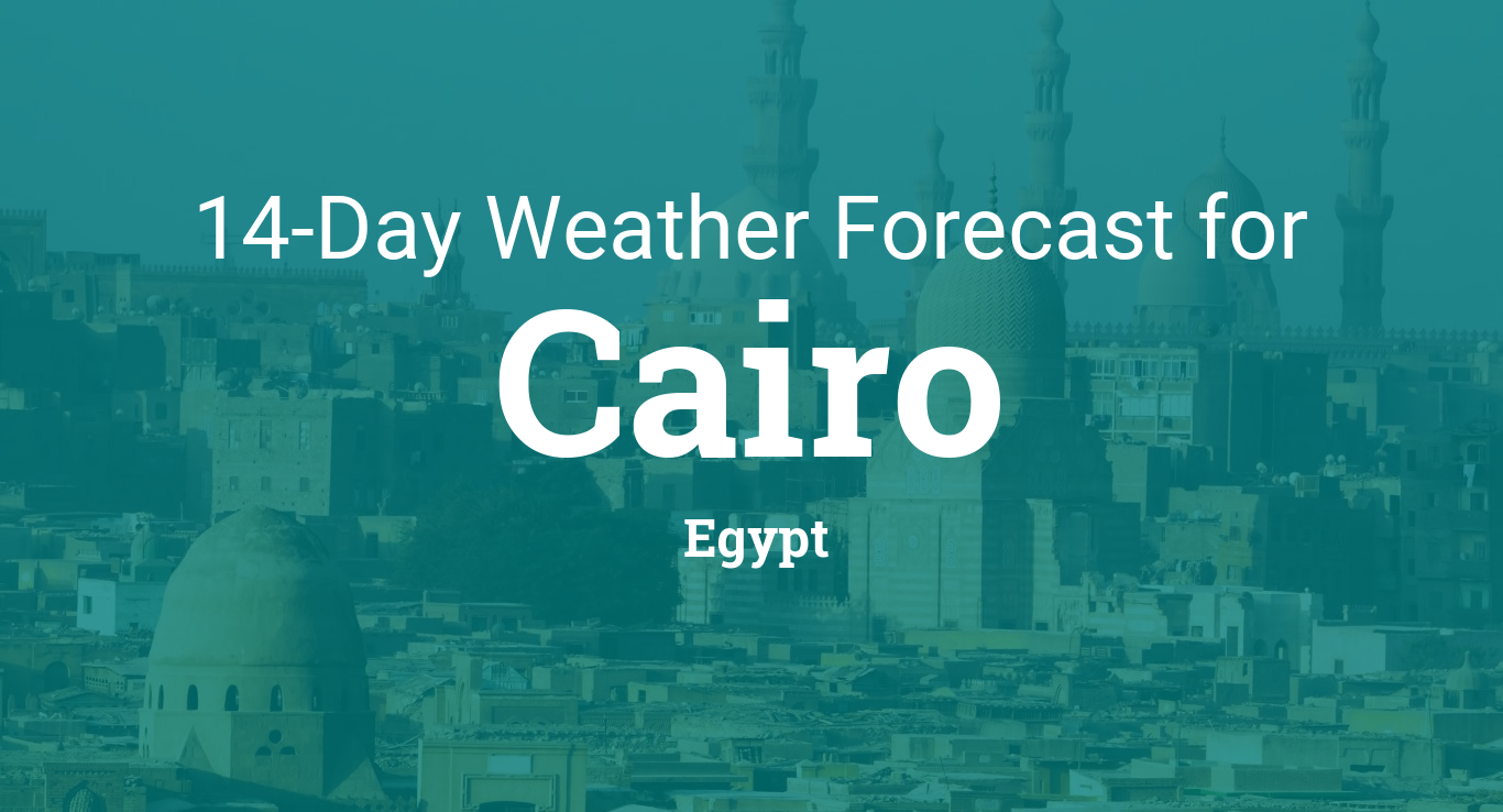 Cairo, Egypt 14 day weather forecast
