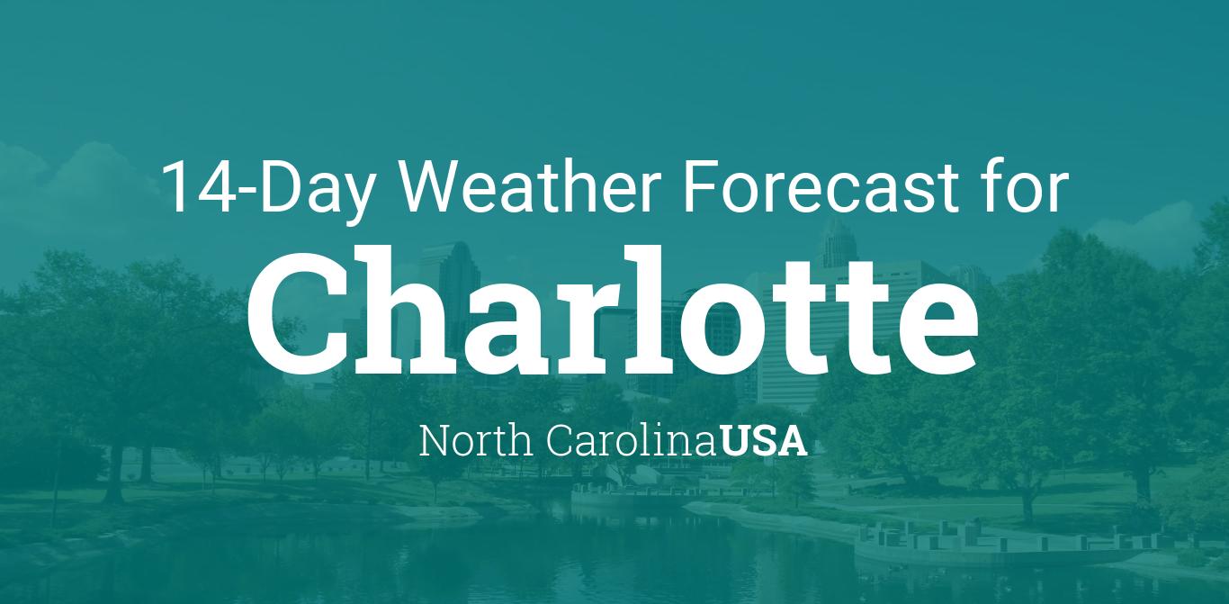 Charlotte, North Carolina, USA 14 day weather forecast