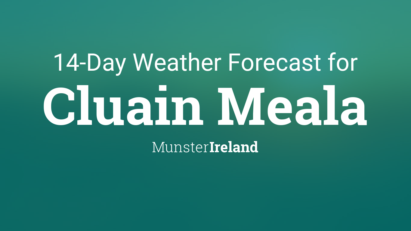 Current Local Time in Cluain Meala, Ireland - Time and Date