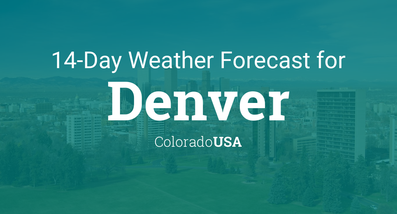 Denver Colorado USA Day Weather Forecast - 10 day weather map of western us