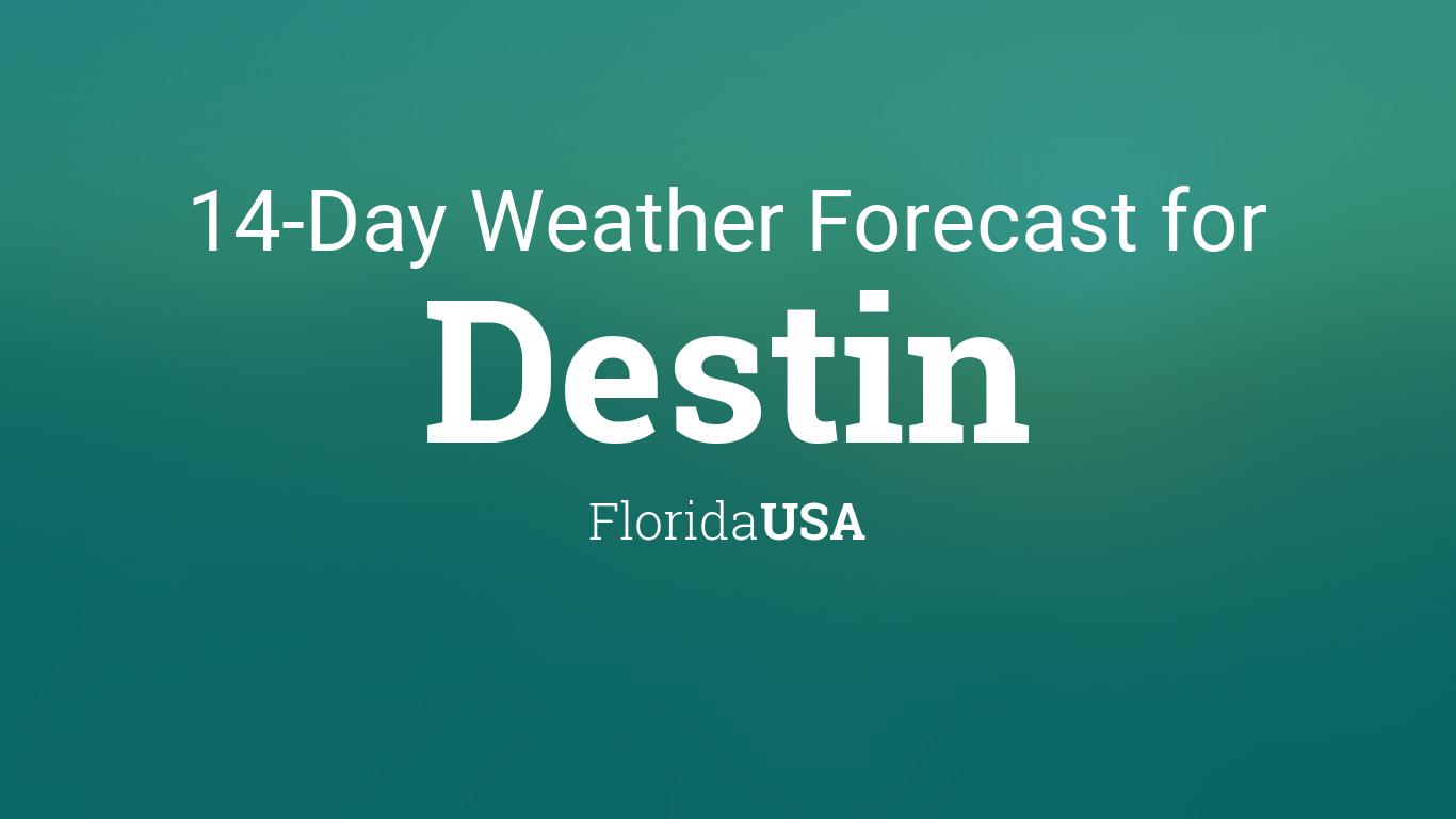 Destin Florida Usa 14 Day Weather Forecast