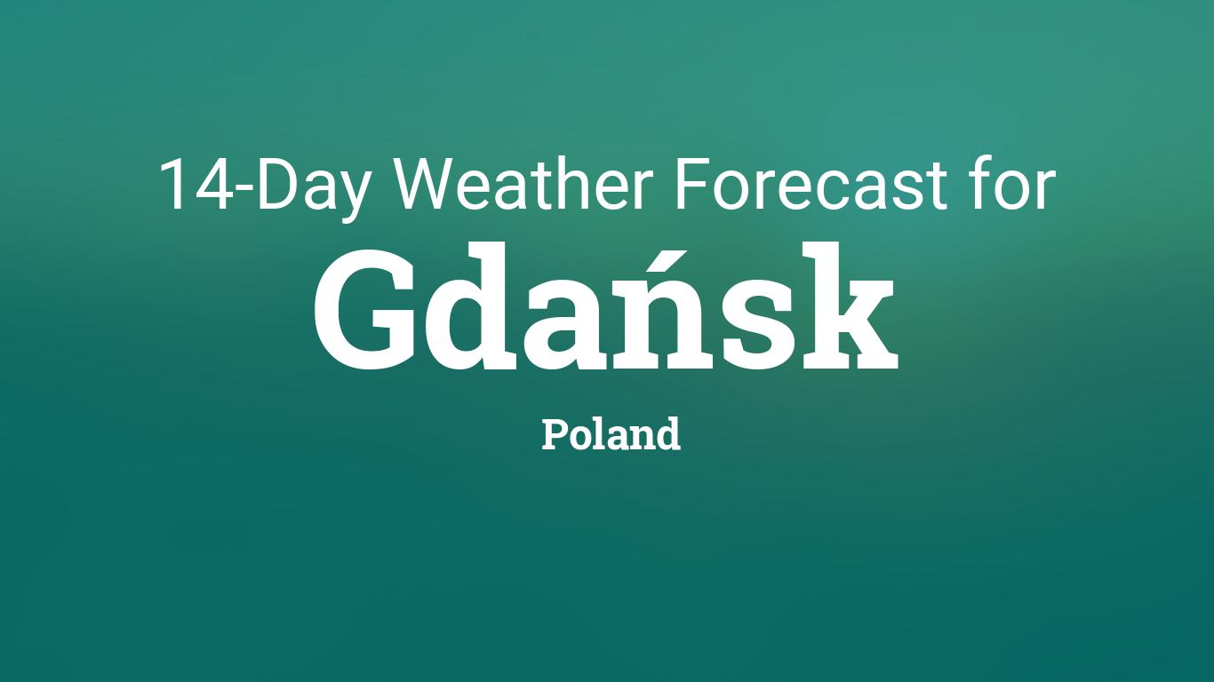 Gdańsk, Poland 14 day weather forecast