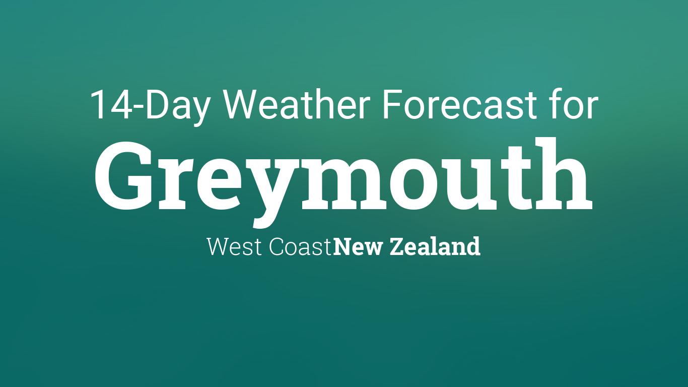 Greymouth, New Zealand 14 day weather forecast