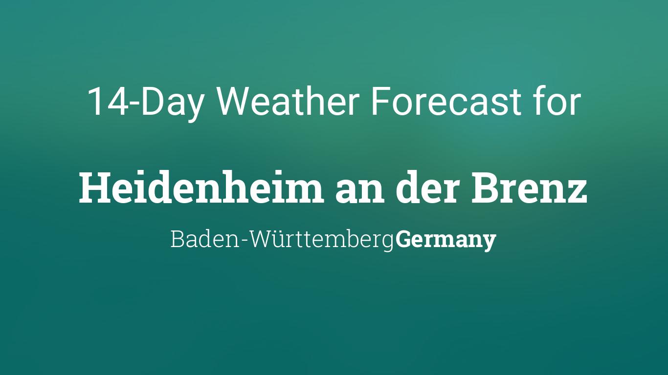 Heidenheim Weather