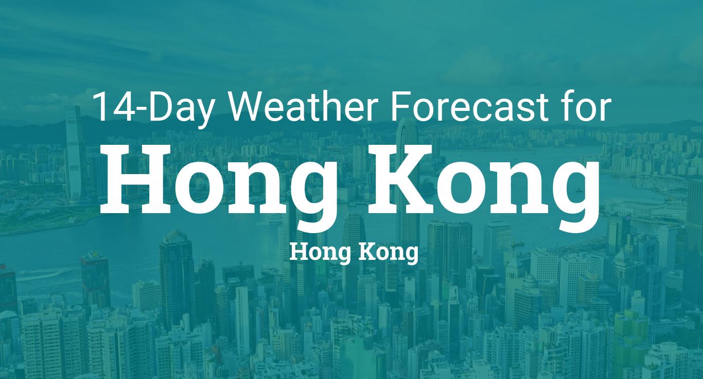 Hong Kong, Hong Kong 14 day weather forecast