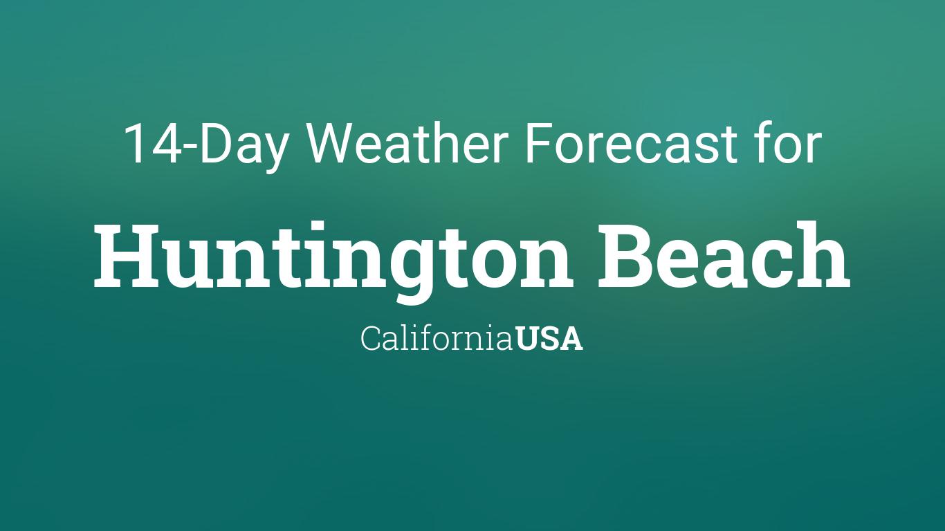 Huntington Beach Site Weather Com