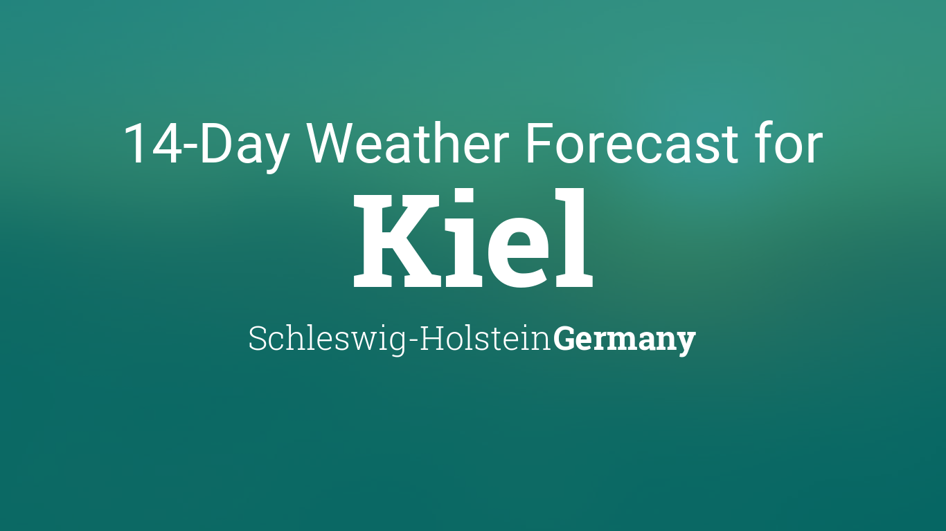 Weather In Kiel Germany