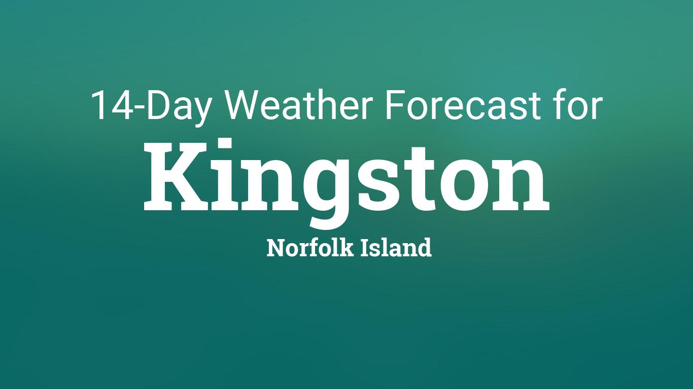 Norfolk Island Weather  Day Forecast