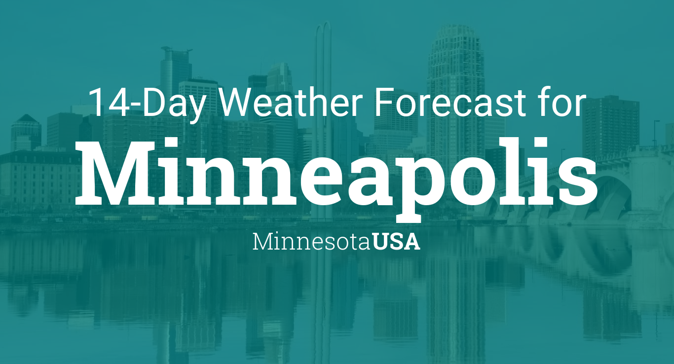 Minneapolis, Minnesota, USA 14 day weather forecast