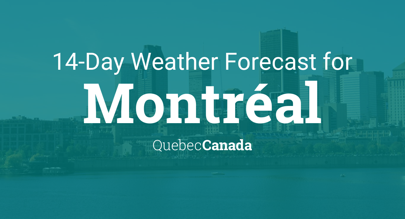 Weather montreal qc canada