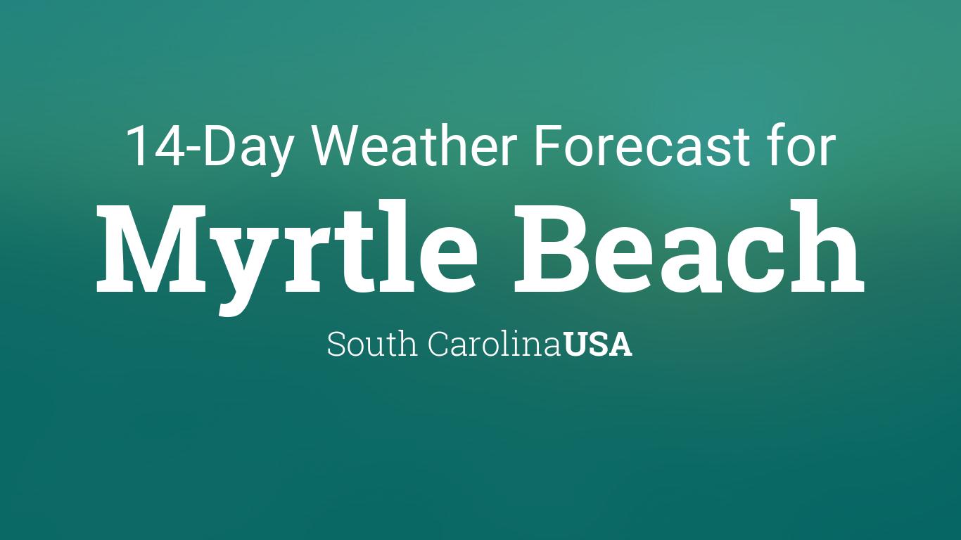 Myrtle Beach, South Carolina, USA 14 day weather forecast