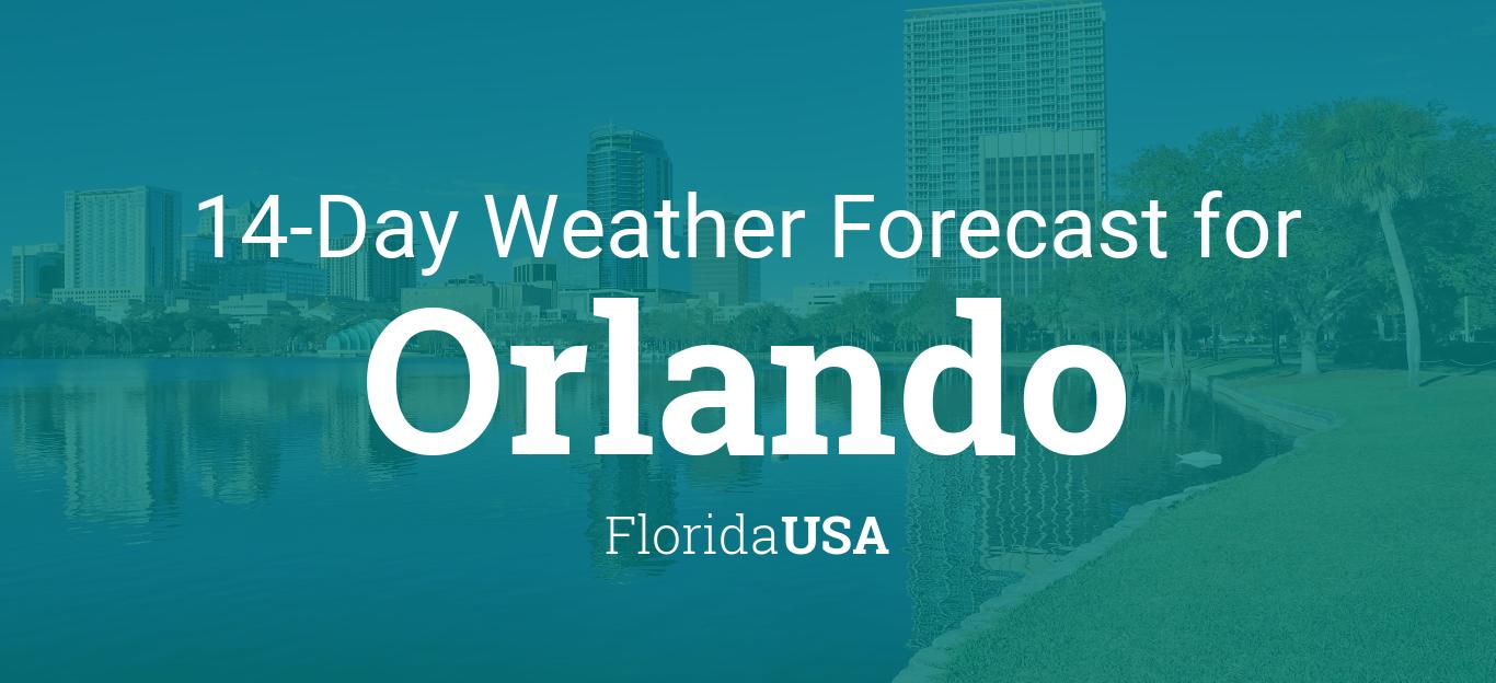 Orlando Florida Usa 14 Day Weather Forecast