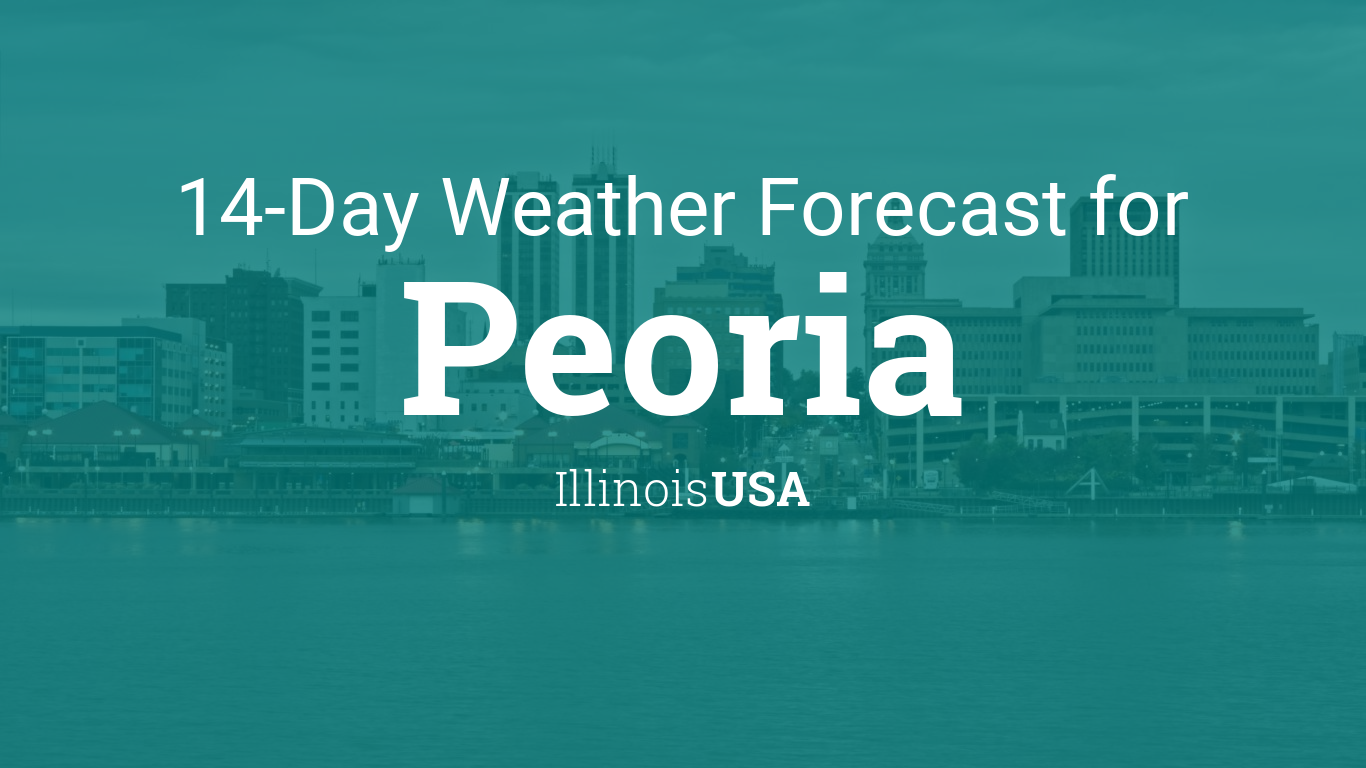 100 Weather Map Usa December  Peoria Illinois Usa 14 Day Weather