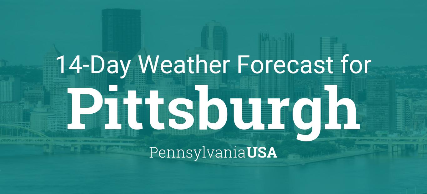 Pittsburgh, Pennsylvania, USA 14 day weather forecast