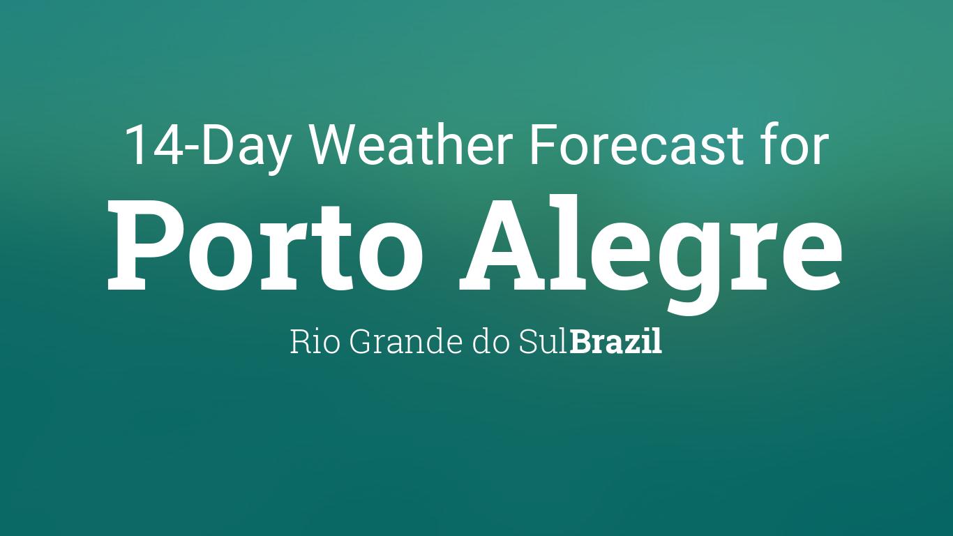 Porto Alegre, Rio Grande do Sul, Brazil 14 day weather forecast