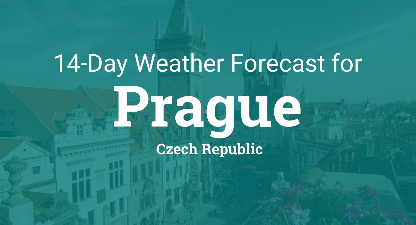 Prague, Czech Republic 14 day weather forecast