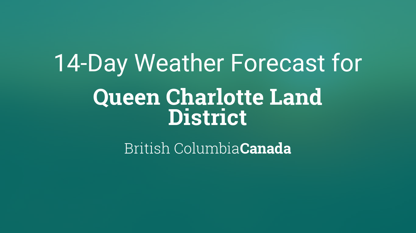Queen Charlotte Land District, British Columbia, Canada 14