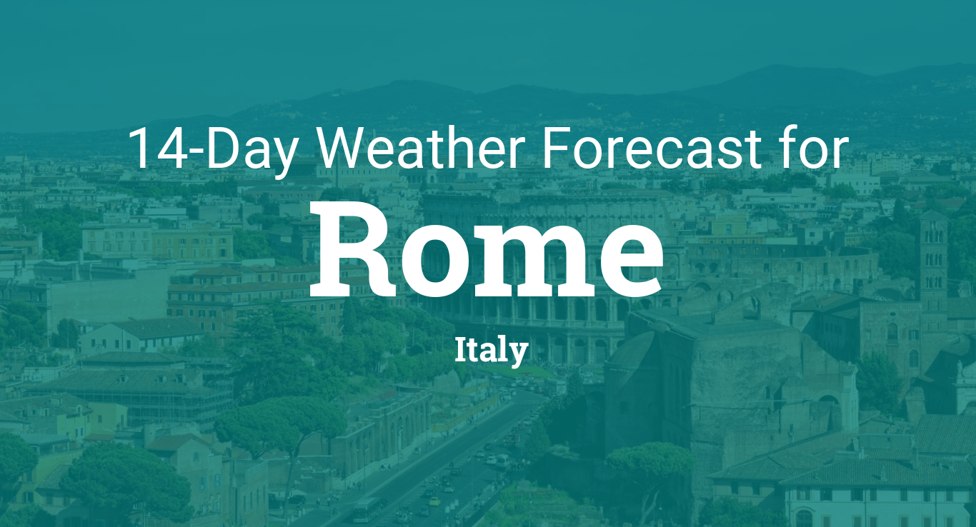 Rome, Italy 20 day weather forecast