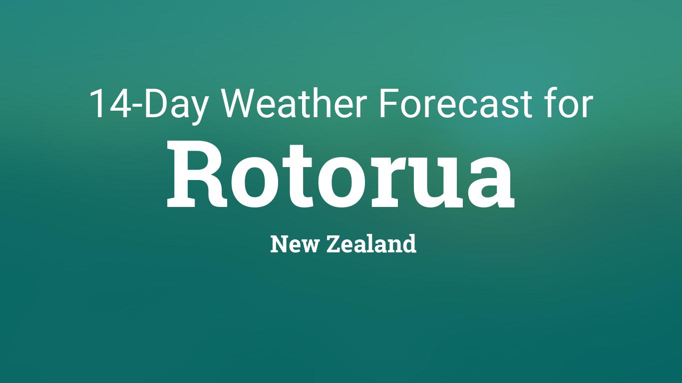 Rotorua, New Zealand 14 day weather forecast