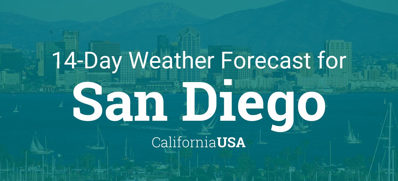 San Diego California Usa 14 Day Weather Forecast