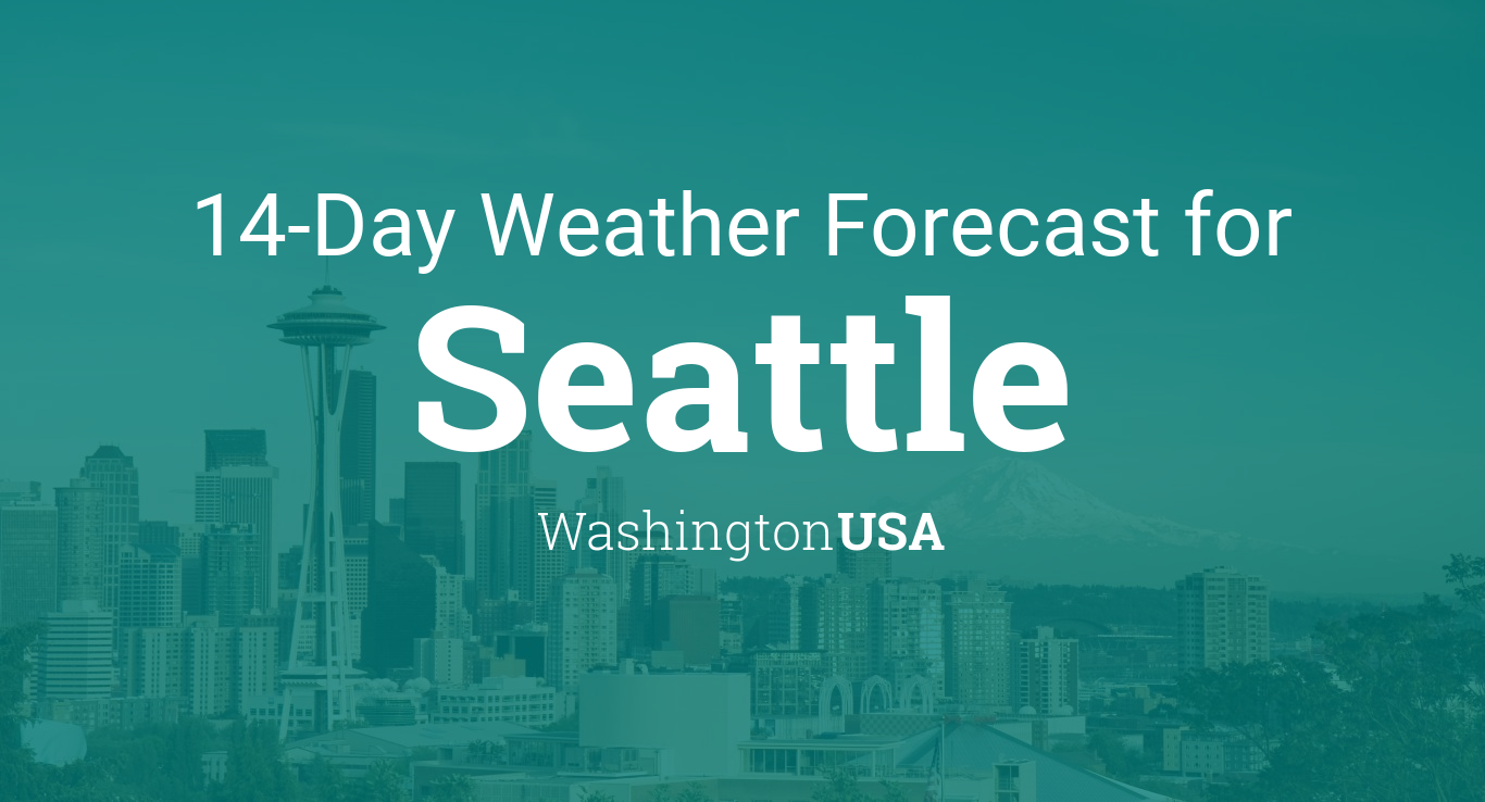 Seattle Washington Usa 14 Day Weather Forecast